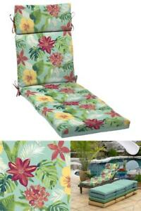 """Chaise Lounge Chair Cushion Outdoor Patio Deep Seat Pad UV Fade Resistant 21x72"""""""