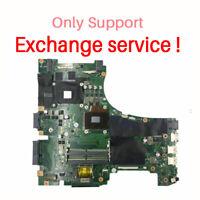 Exchange !! For ASUS GL553V GL553VW FX53V ZX53V Motherboard I7-6700HQ Mainboard