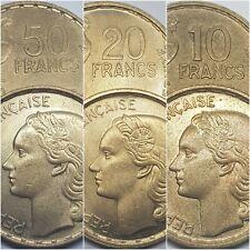 10 20 50 Francs Guiraud (1950 - 1958) Choisissez Année & Etat !