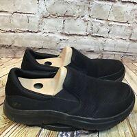 Skechers Work Mens Black Mesh Relaxed Fit Slip Resistant Tread Size 10.5