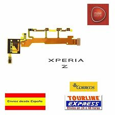 FLEX BOTON VOLUMEN POWER MICROFONO PARA SONY XPERIA Z C6603 C6602 C6616 L36H