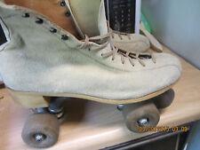 Men   Norele Suede  sz 11 or Women size 12 heel to toe 11 316 in  roller skates.