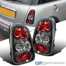 Para 02-04 Mini Cooper Negro Luces traseras de aparcamiento Lámparas De Freno Trasero Izquierda + Derecha