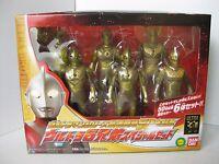 Ultraman series 50 Anniversary Ultra 6 Brothers Figure Special Set F/S Japan New