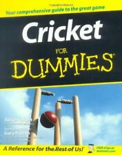 More details for cricket for dummies by julian knight paperback book the cheap fast free post