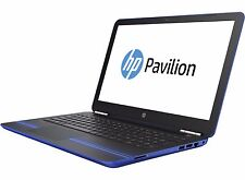 "HP Pavilion 15 15.6"" 1080 Touchscreen Laptop Quad A12 8GB 256GB SSD BT W10 Blue"