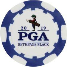 2019 PGA CHAMPIONSHIP (Bethpage Black) - BLUE - POKER CHIP Golf Ball Marker