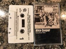 Alice Cooper Greatest Hits Cassettes! Kiss Van Halen Black Sabbath Aerosmith