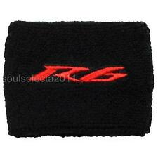 YAMAHA R6 BRAKE RESERVOIR COVER OIL CUP COVER GP SOCK SET YZF 600 S BLACK/RED