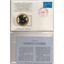 1976 Japan Cable China Japan Postmasters FDC and Silver Medal MF62889
