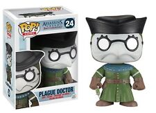 FUNKO POP GAMES ASSASSINS CREED PLAGUE DOCTOR #24 RETIRED Figure IN STOCK