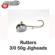 Jigheads 3/0-50 G roundheads C / W alosa mantenendo FILO