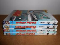 Madtown Hospital Vol. 1 2 3 4 by JTK Manhwa Manga Book Complete Lot in English