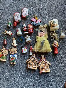 Vintage Xmas Decorations Job Lot