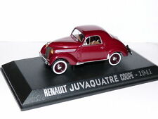 RE19E Voiture 1/43 M6 Universal Hobbies RENAULT JUVAQUATRE coupé 1941