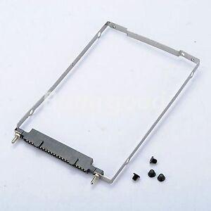 HDD Hard Drive Caddy For HP Compaq NC6000 NC8000 NX5000 NW8000 Connector + 4Vis