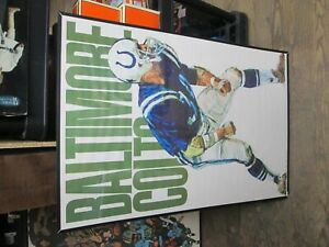 1968 Baltimore Colts Team Poster