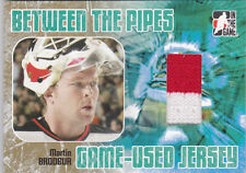05-06 ITG Martin Brodeur /20 GOLD Jersey Between The Pipes Devils 2005