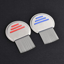 New Stainless Steel Hair Lice Comb Nit Free Terminator Fine Egg Dust Removal