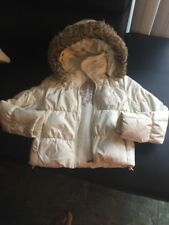 Steve Madden hooded jacket zipper size S Removable Fur And Hood.