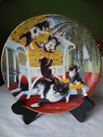 Country Kitties By Gre' Gerardi Just For The Fern Of It Excellent Condition
