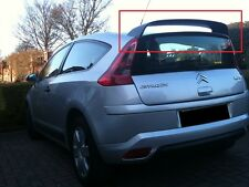 CITROEN C4 COUPE 3D 3 DOORS REAR ROOF SPOILER NEW 2004 - 2010