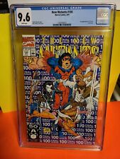 Marvel Comics NEW MUTANTS# 100  CGC 9.6  x-men X-FORCE