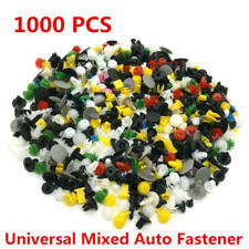1000PCS Mixed Car Door Panel Trim Fenders Bumper Rivet Retainer Push Pin Clips