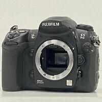Fujifilm S5 Pro Black Body Only Digital SLR Camera Nikon F Mount From Japan [JC]