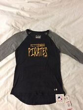 Under Armour, Pittsburgh Pirates Baseball Shirt, Size Youth L, NWT! MLB Licensed