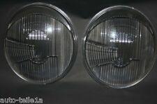 PORSCHE 356 / VW BUG 2 RHD HEADLIGHT LENSES ASYMMETRIC BOSCH 1305604081 -1967