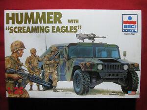 US Army Hummer Screaming Eagles 1/35 Ertl Esci Military Soldiers Figures Humvee