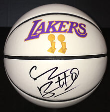 LA Lakers #12 SHANNON BROWN Signed Autographed Basketball COA! 2x NBA CHAMP