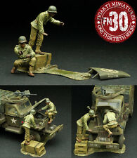 FIGARTI PEWTER WW2 AMERICAN ETA-018 RED BALL EXPRESS MECHANICS MIB