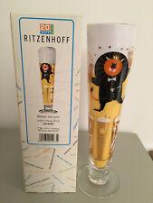 Ritzenhoff Clubstar Bierglas Bierkrug Kelch Bier Glas 0,4 L Auge NEU