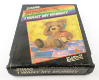 RARE Atari 2600 I Want My Mommy Game Cartridge (Clean Contacts) Video Game Cart