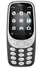 Nokia 3310 (2017) - Charcoal   (Unlocked) Cellular Phone (Single SIM) 3G