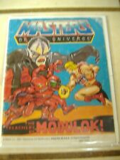 Vintage 1985 Masters Universe The Treachery Of Modulok Mini Comic * motu he-man