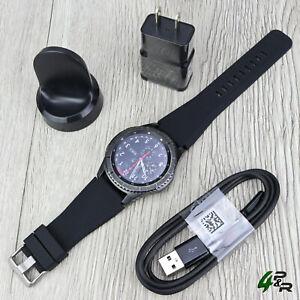 Samsung Gear S3 Frontier SM-R760 46mm Bluetooth Smartwatch - (SM-R760NDAAXAR)