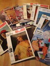 LOT DE 15 REVUES LE JARDIN DES ARTS 1955-1957-1958-1959-1971-1972-1973
