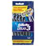 2 x Gillette Blue 3 Rasoirs Jetables pour Homme Lot de 24