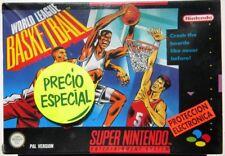 WORLD LEAGUE BASKETBALL SUPER NINTENDO SPANISH VERSION PAL