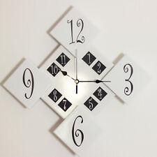 Orologio da Parete Design in Ceramica Fatto a Mano Arredo Decorazione Silenzioso