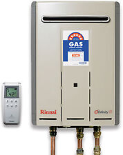Rinnai Natural Gas Continuous Flow Hot Water System INF26TN60M