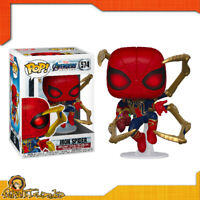 Avengers Endgame - Pop! di Iron Spiderman con Nano Gauntlet Guanto Marvel n°574