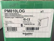 PM810LOG SCHNEIDER ELECTRIC PM810LOG LOGGING MODULE, POWERLOGIC, NEW