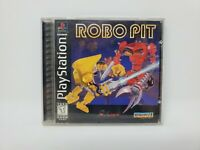 Robo Pit (Sony PlayStation 1, 1995) Complete with Manual Tested and Works