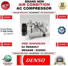 DENSO NEUF CLIMATISATION ca COMPRESSEUR OEM: 8200958328 pour Renault Megane