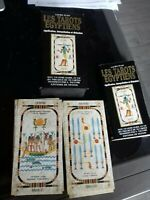 LES TAROTS EGYPTIENS coffret +livre guide+78 cartes Laura TUAN de vecchi 1995