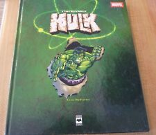 Ultra Rare Hard Cover French Book L'incroyable Hulk Marvel Comics ! Tom DeFalco